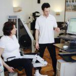 Rückentraining im Wirbelsäulenstützpunkt
